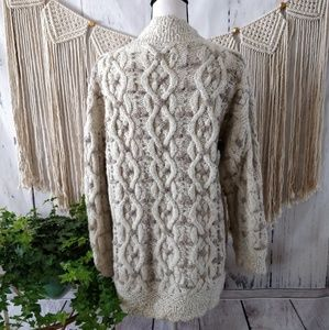 Express Tricot Sweaters - Express Tricot Vintage Cream Knit Sweater M